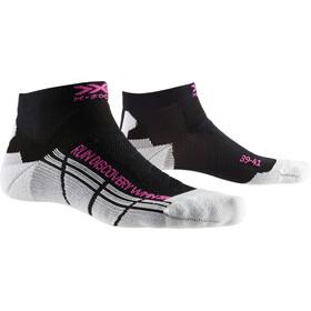 X-Socks Run Discovery Calcetines Mujer, negro